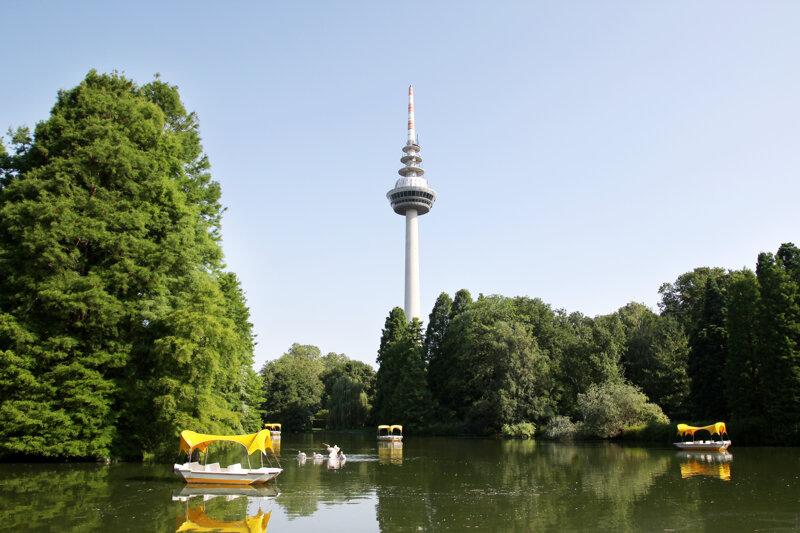 Luisenpark und Fernmeldeturm