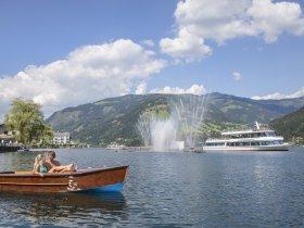 bootsfahrt wassershow schmittenhoehe Zell am See-Kaprun Tourismus Faistauer Photography