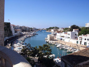 Puerto de Ciudadela Menorca