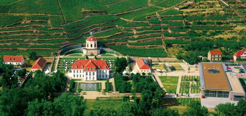 Schloss Wackerbarth in Radebeul bei Dresden