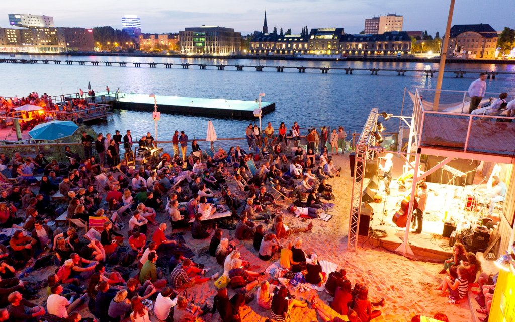 Open Air Konzert in Berlin