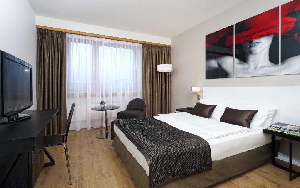 Wyndham Stuttgart Airport Messe Zimmer Doppelzimmer