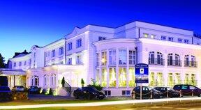 Das Hotel Lubicz Wellness & Spa von außen