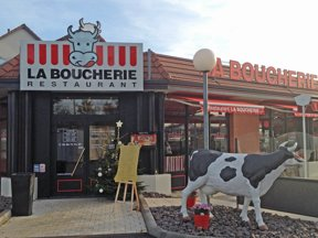 Restaurant La Boucherie, HAGUENAU extérieur