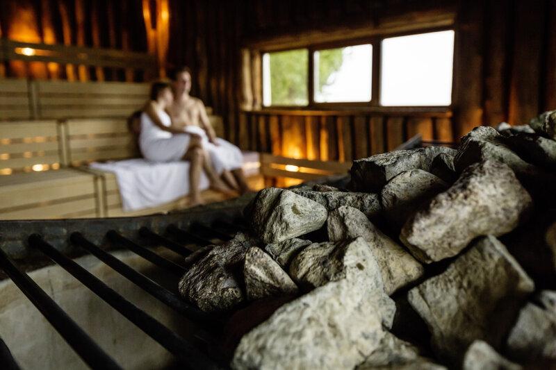 Sauna mit Paar Meersburg Therme