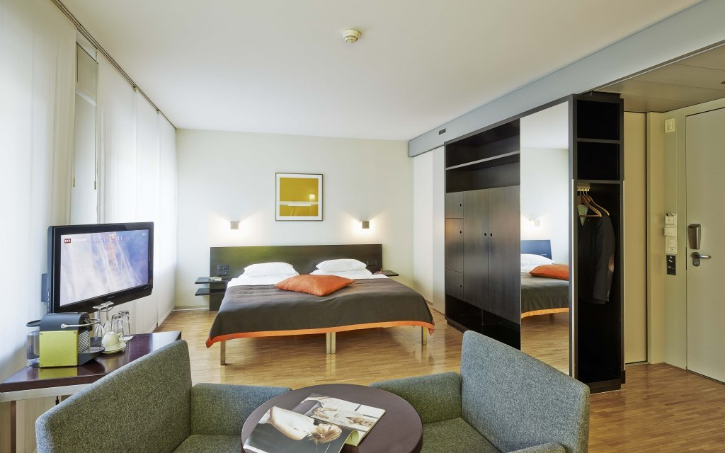 Zürich Sorell Hotel Seefeld Zimmer Doppelzimmer