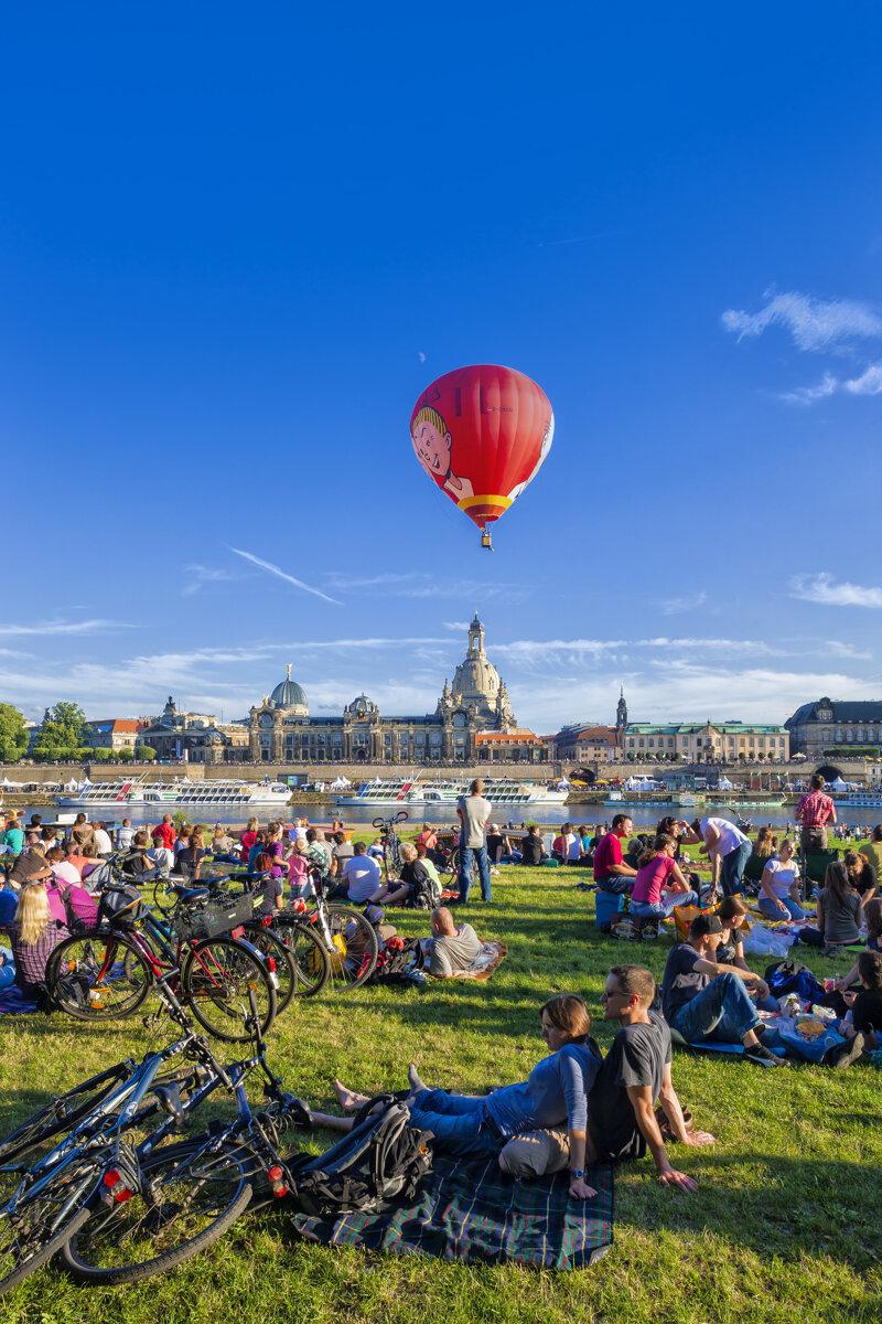 Sommer in Dresden c Sylvio Dittrich