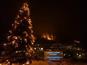 Weihnachtsbaum Therme