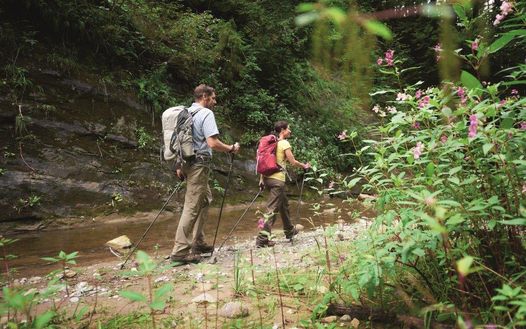 Zwei Wanderer im Allgäu