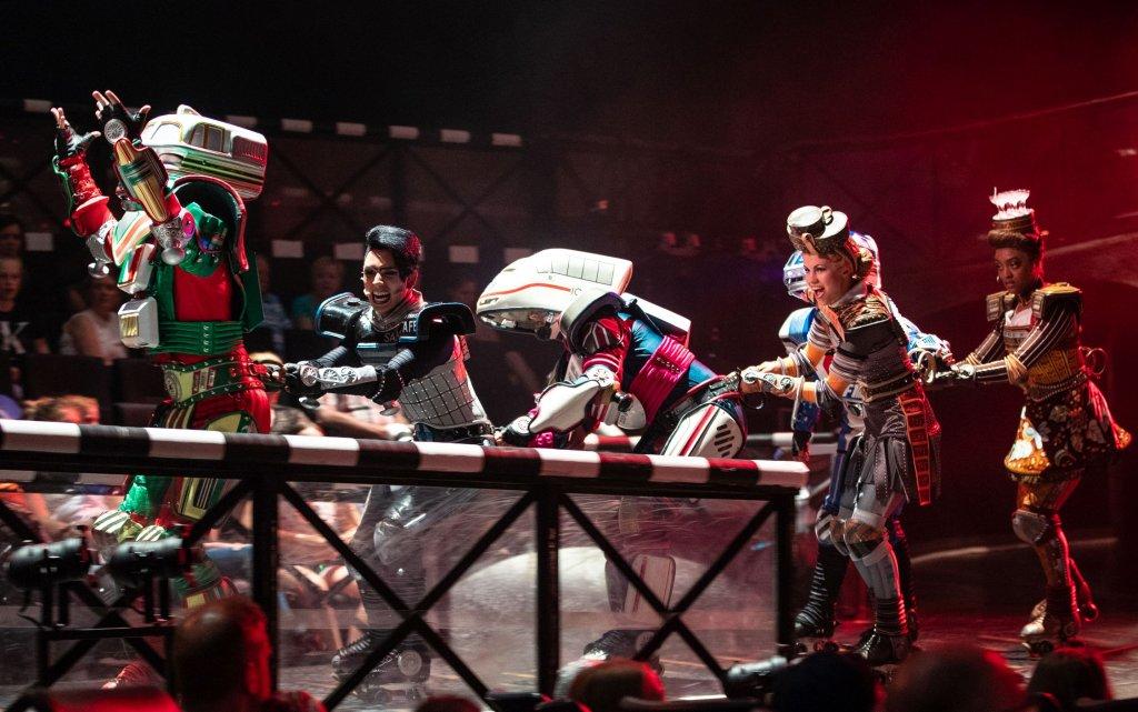 Starlight Express Musical-Darsteller auf der Bühne