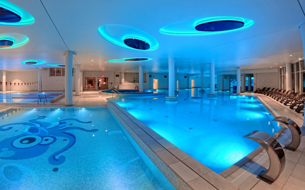 Stolpmünde Hotel Grand Lubicz Pool Hallenbad Wellness