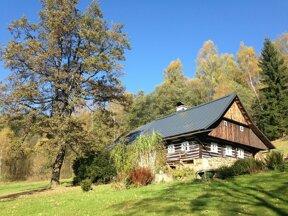 Bauernhof im  Isergebirge in Tschechien