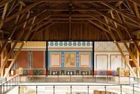 Römerhalle Wand C Gesundheit- und Tourismus für Bad Kreuznach GmbH