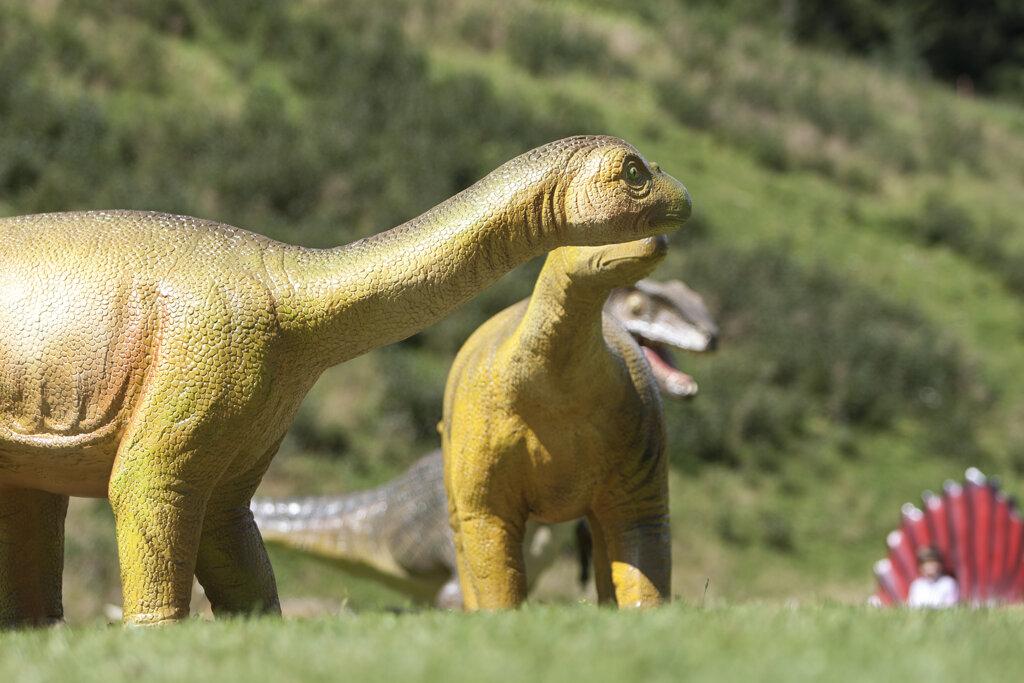 Dinosaurier im Dinopark