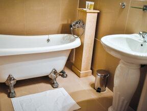 Badezimmer- Chateau Kynsperk