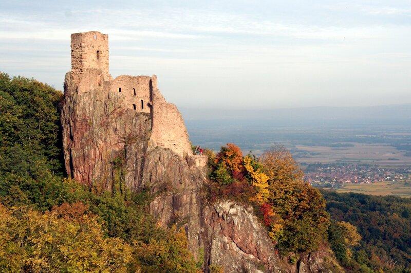 Burg Girsberg bei Ribeauville
