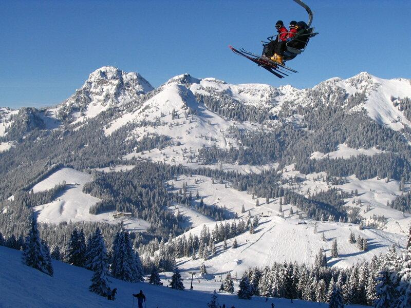 Skigebiet Blick Wendelstein