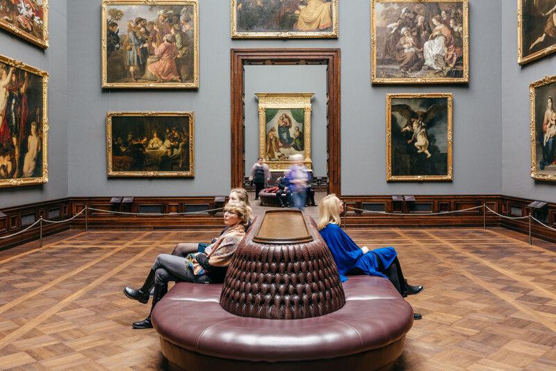 Die Gemäldegalerie Alte Meister in der Staatlichen Kunstsammlung Dresden