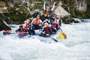 Rafting c Salzburger Saalachtal
