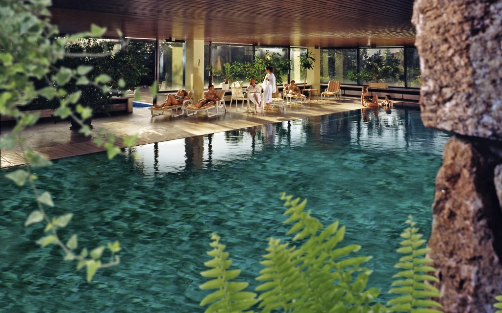 Bischofsgrün Hotel Kaiseralm Pool Hallenbad