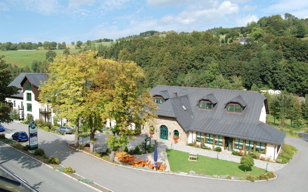 Breitenbrunn Landhotel Rittersgrün aussen Außenansicht