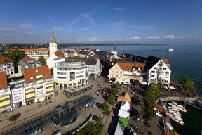 Innenstadt Friedrichshafen C Tourist-Information Friedrichshafen