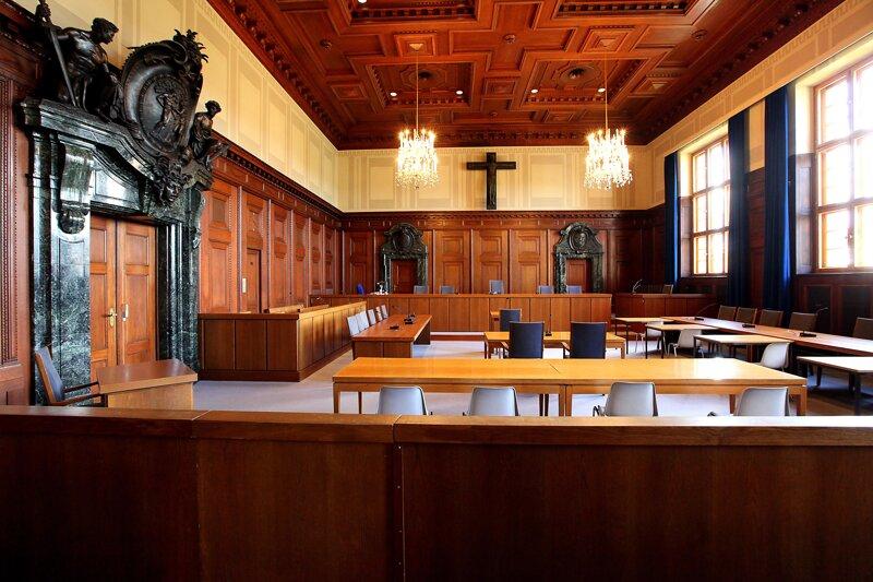 Memorium Nürnberger Prozesse Saal 600