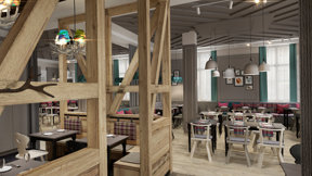 Rendering Restaurant 2