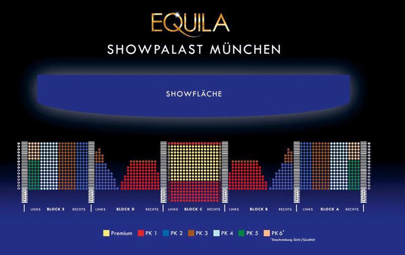 Saalplan Showpalast München