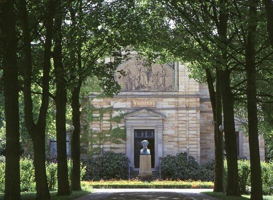 Bayreuth Villa Wahnfried Wagners Wohnhaus