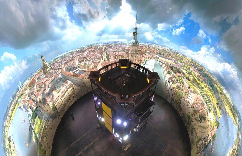 Yadegar Asisi Dresden im Barock im Panometer Dresden
