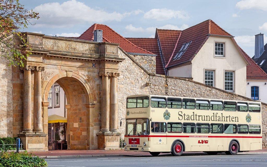 Osnabrück Historischer Doppeldeckerbus