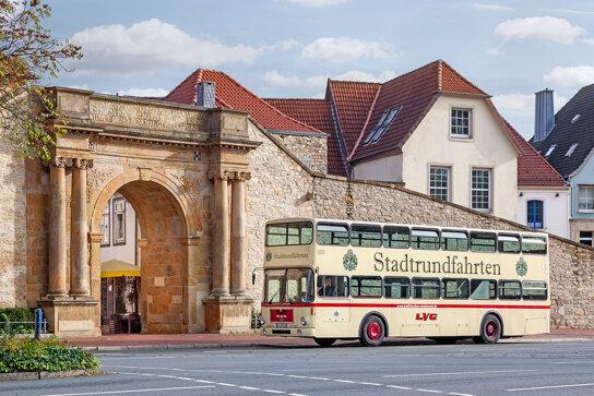 Historischer Doppeldeckerbus c Dave Ziegenhagen
