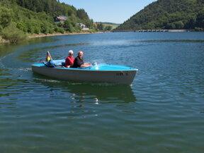 Diemelsee Elektroboot