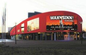 Theater am Marientor mit Wahnsinn-Banner © Semmel Concerts