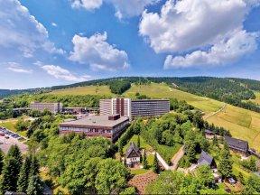 Außenansicht Ahorn Hotel am Fichtelberg
