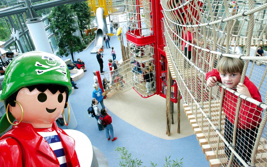 Innenbereich Playmobil Funpark in Zirndorf