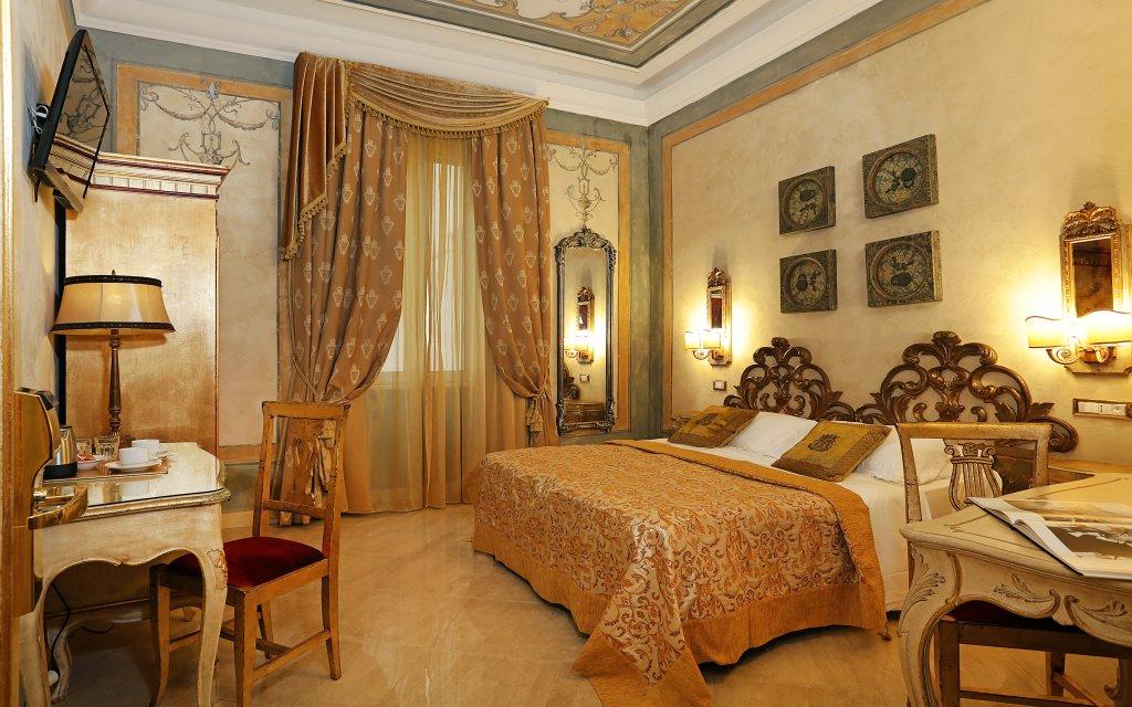 Rom Hotel Romanico Palace Zimmer Doppelzimmer