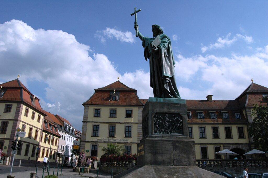 Fulda Bonifatiusplatz