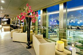 City Resort Leiden Restaurant Twelve mit Aussicht