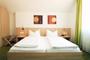 Komfort Zimmer Bett