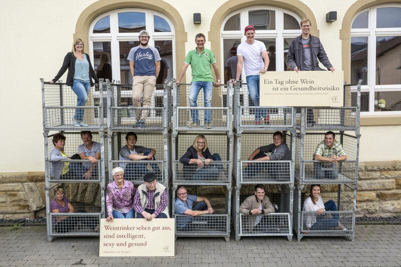 Familienfoto Weingut Hemmes