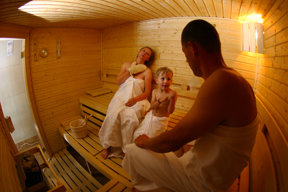 Main building sauna 1