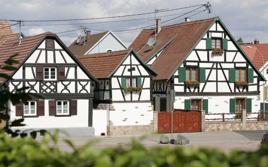 Fachwerkhäuser in Mutzig