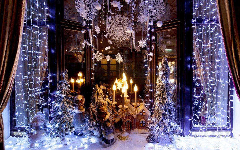 Weihnachtlicher Schmuck in Marienbad
