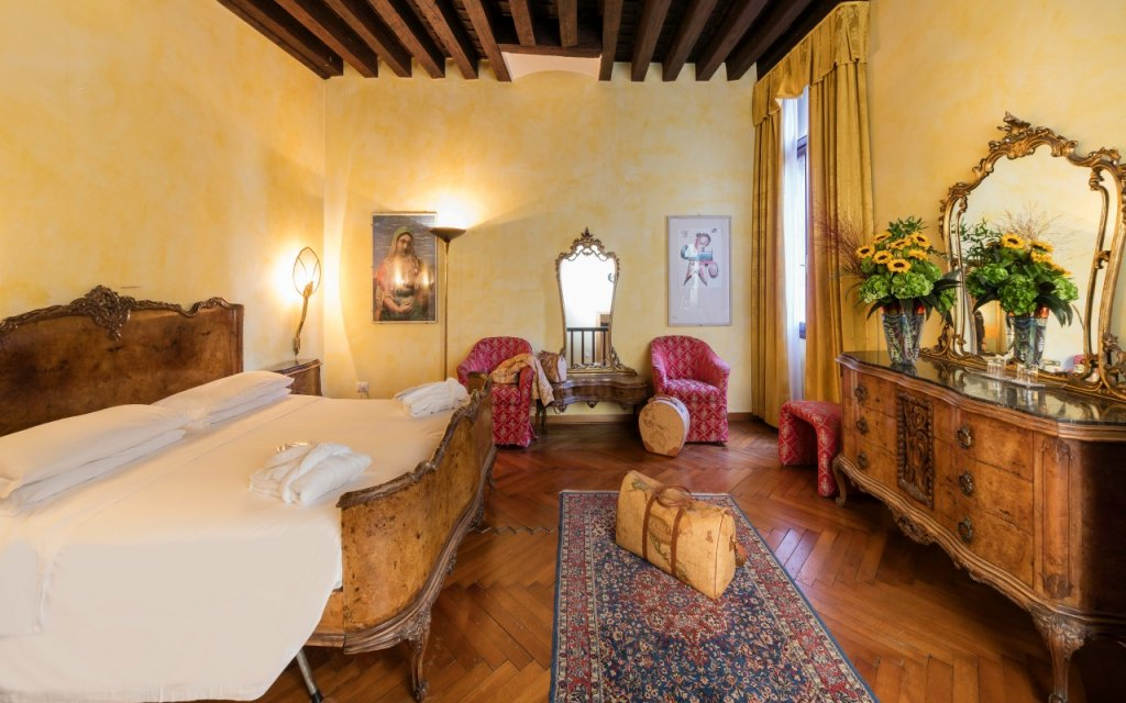 Venedig Hotel All'Angelo Zimmer Doppelzimmer