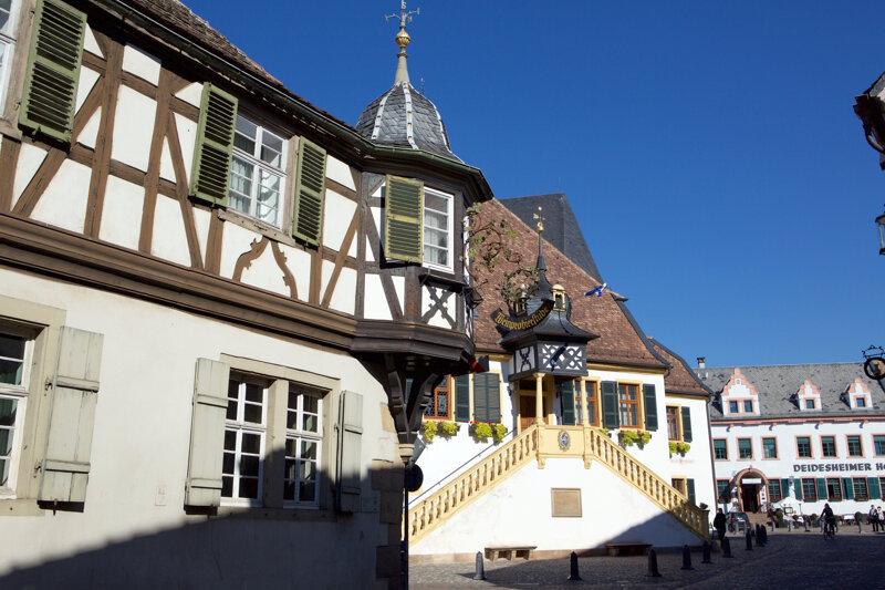 Fachwerk in Deidesheim