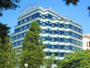 Außenansicht des Hotel abba Sants in Barcelona