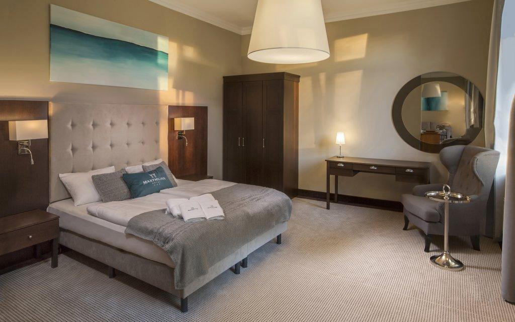 Kolberg Hotel Maxymilian Zimmer Doppelzimmer