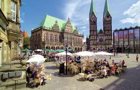 Marktplatz - Rathaus, Dom, Bürgerschaft Titus Czerski BTZ